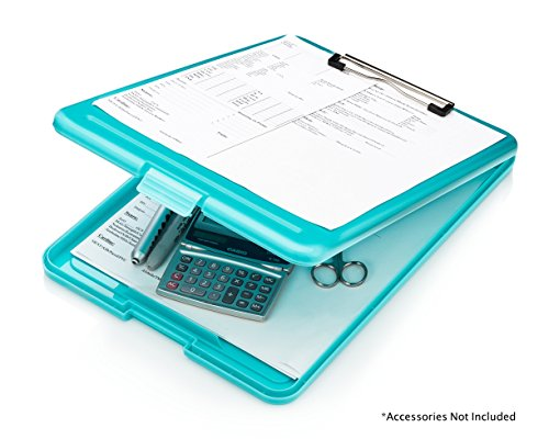 Nursing Clipboard with Storage by Tribe RN™ With Quick Access Medical References - Nurse / Student Edition (Mint)