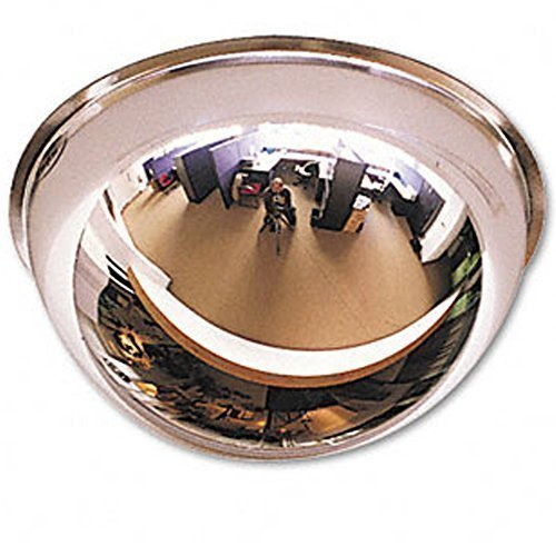 45cm Ceiling Full Mirror Dome Hemisphere 360 Panoramic Convex Shop Security Safe 360 Edenstar