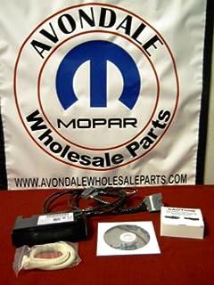 amazon com chrysler dodge ram jeep rer nav radio uconnect mirror dodge ram 1500 09 12 hands uconnect kit oem