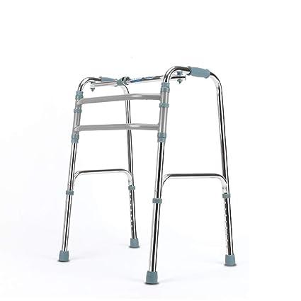 Andador de 4 pies de aleación de aluminio plegable de altura ...