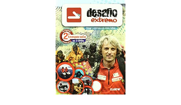 Amazon.com: Desafío Extremo - Temporada 2 (Import Movie) (European Format - Zone 2) (2010) Jesús Calleja: Movies & TV