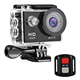 Nexgadget WIFI Action Camera, EXPLORER3 Series Waterproof DV Camcorder 12MP 170 Degree Wide Angle with 2.4G Remote Control for action sports camera(EXPLORER3)