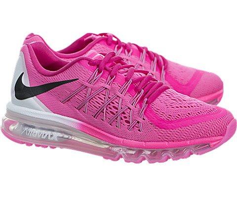 Nike Air Max 2015 (Kids) - Pink Pow / Vivid Pink-White-Black, 4 M US