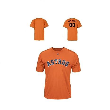 online store de262 e88be Amazon.com: Majestic Houston Astros Adult Evolution Color T ...