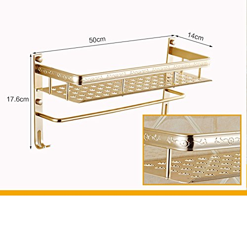 70%OFF Space aluminum bathroom racks/Toilet wall hanging racks/Toilet wash rack-B