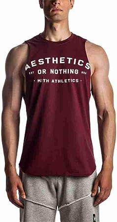 NSBXDWRM Tank Top Hombre,Mens Tank Tops T-Shirt De Impresión ...