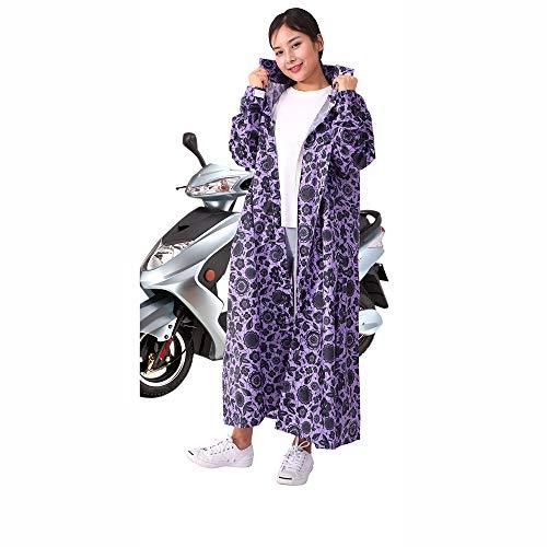 Eléctrico Pieza De Largo En Poncho Para Impermeable Cuerpo Bicicleta Ciclista Adultos Gongyu Montar Purple Una gfxwnTqCU