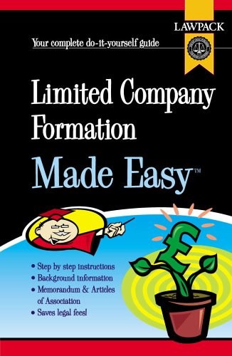 Download Limited Company Formation Made Easy pdf epub