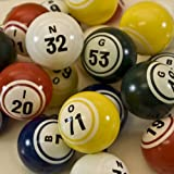Multi Color Bingo Balls - Pro Series
