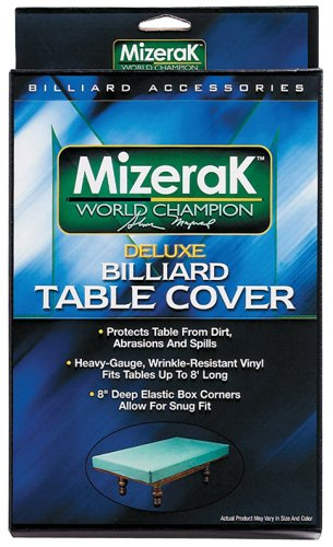 Mizerak P0863 Billiard Deluxe Table Cover (Mizerak Pool Table Cover)