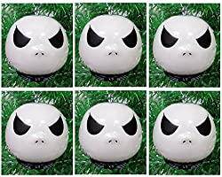 Disney NIGHTMARE BEFORE CHRISTMAS Ornament Set Featuring 6...