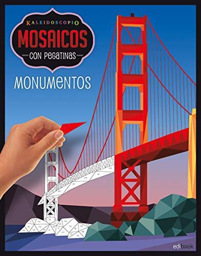 KALEIDOSCOPIO-MOSAICOS CON PEGATINAS ADULTOS- MONUMENTOS: Kaleidoscopio. Mosaicos pegatinas adultos. Monumentos: 3 por Vv.Aa