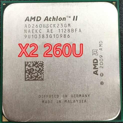Cailiaoxindong Athlon II X2 260U x2 260 AD260USCK23GM 1.8GHz AM3 938-pin 25W/Dual-Core 2M Cache Desktop CPU