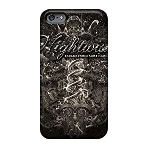 Great Cell-phone Hard Cover For Apple Iphone 6s (wNN1002BAod) Unique Design Nice Nightwish Band Pattern