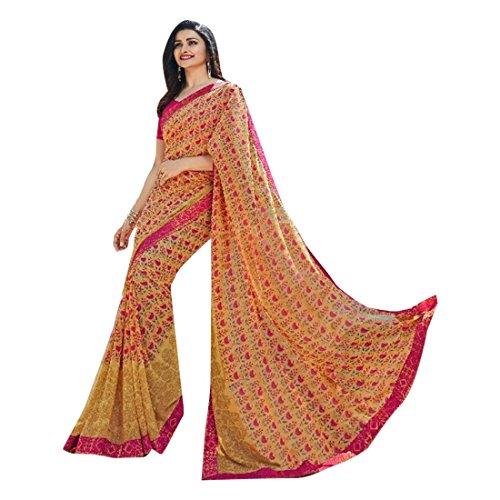 in indiano EMPORIUM georgette Designer bollywood indiano con saree 705 ETHNIC stampa qAgI6PwZ