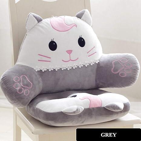 Amazon.com: Cojín para silla de gato con dibujos animados ...