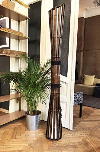 Floor Lamp, Bamboo Furniture, Yoga Studio Decor, Living Room Lamp, Lodge Decor, Big Lamp