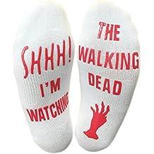 Shhh I'm Watching The Walking Dead Funny Socks