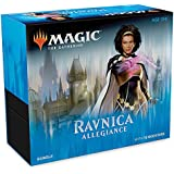 Magic: The Gathering C46350000 Ravnica Allegiance Bundle | 10 Booster Pack + Land Cards (230 Cards) | Accessories