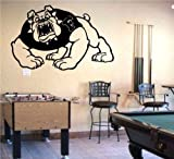 NCAA Fresno State Bulldogs Logo Emblem Wall Art Sticker Decal (S232)