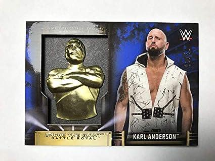 #23 KARL ANDERSON 2016 Topps WWE Heritage RC Sports Mem, Cards & Fan Shop