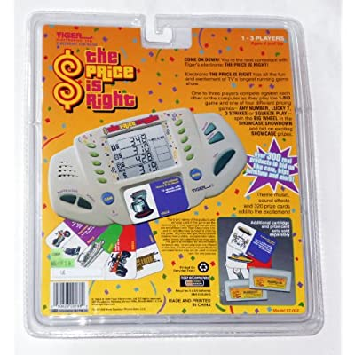 The Price Is Right Electronic LCD Handheld Game (1998): Toys & Games