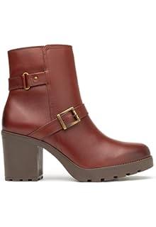 5e6e67db67834 Flexi Bota Café Bota para Mujer  Amazon.com.mx  Ropa, Zapatos y ...
