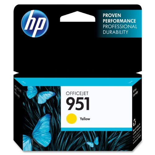 HP Yellow Original Cartridge CN052AN product image