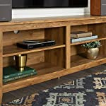New 58 Inch Wide Barnwood Finish Television Stand