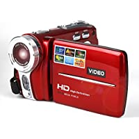 Mini Digital Camera,Hosamtel 16x Digital Zoom 3In TFT LCD 20MP Digital Video Camcorder DV Camera RD