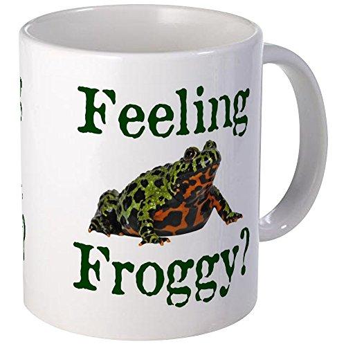 CafePress Feeling Froggy? Mug Unique Coffee Mug, Coffee Cup