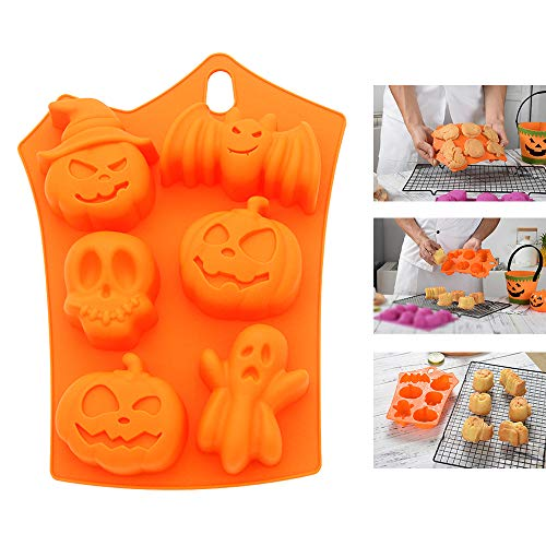 Silicone molds,LKE Muffin Pan Halloween Limited Edition cupcakes
