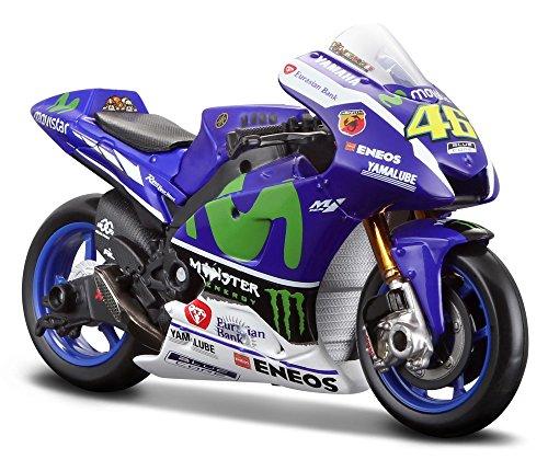 Yamaha YZR-M1 Movistar (Valentino Rossi - No 46 MotoGP 2016) Diecast Model Motorcycle