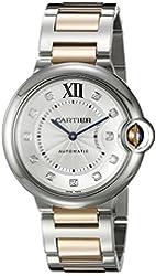 Cartier Women's WE902031 Ballon Bleu Analog Display Automatic Self Wind Two-Tone Watch