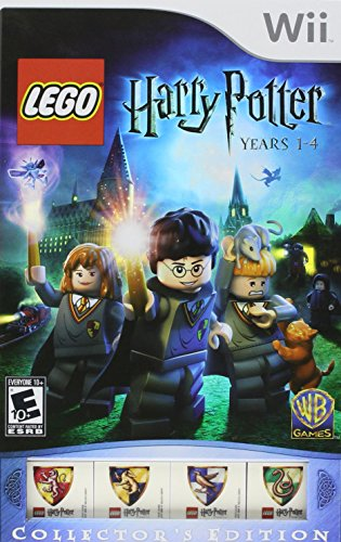 Nintendo Wii - Lego Harry Potter Years 1-4 COLLECTOR'S EDITION