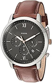 Reloj Fossil FS5408 Marron Acero 316 L Hombre: Amazon.es: Relojes