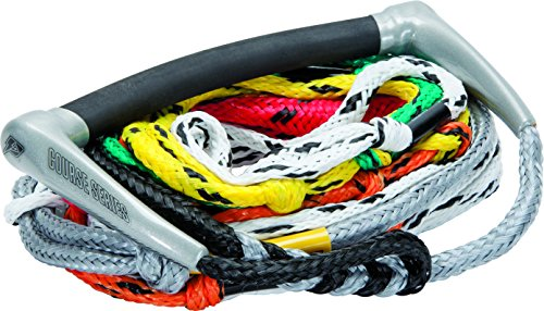 (Proline Waterski Course Radius Handle with 8-Section Air Mainline Rope,)