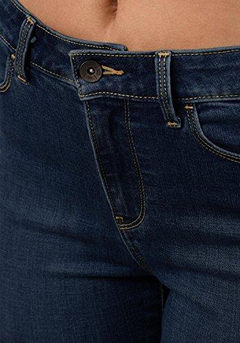 Blue pour Pantalon Dark Mid Vero Strech Femme Diamond Taille Denim M L30 Jeans Couleur Moda Rise ZqZaUwB