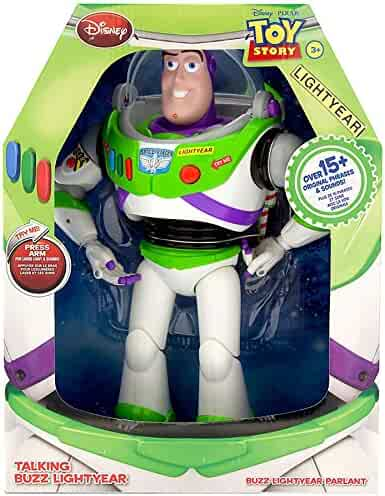 Disney Advanced Talking Buzz Lightyear Action Figure 12