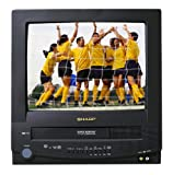 Sharp 13V-TR100 13-Inch TV/VCR Combo