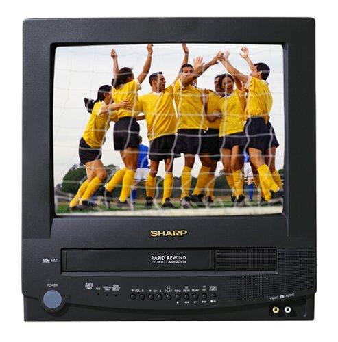 Sharp 13V TR100 13 Inch VCR Combo