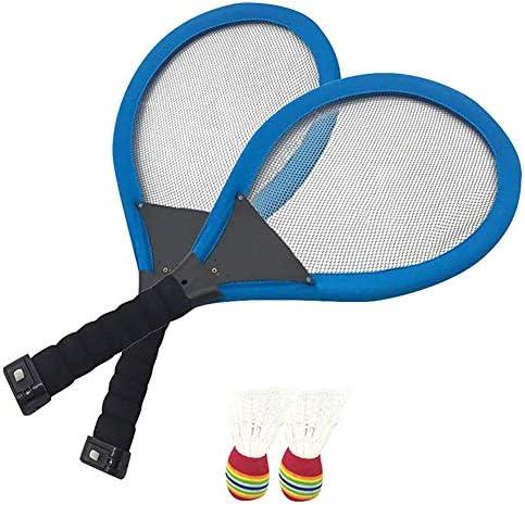 Fengstore LED-Badmintonschläger-Sets, Familien-Training, Unterhaltung, Outdoor-Nachtlicht, Sport für Kinder