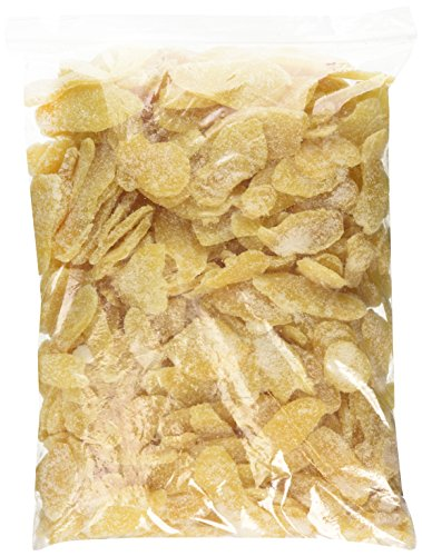 Dried Crystallized Ginger Slices, 5 lb (Ginger Slices)