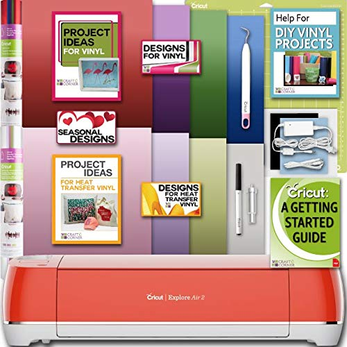 Cricut Explore Air 2 Machine Bundle With Beginner Guide