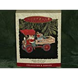 1 X 1993 Happy Haulidays Here Comes Santa Hallmark Ornament QX4102