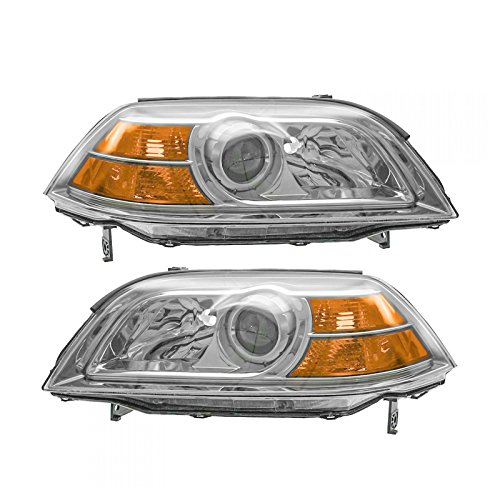 Headlights Headlamps Left & Right Pair Set for 04-06 Acura MDX