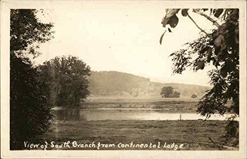 - View of South Branch from Continental Lodge South Branch, New Jersey Original Vintage Postcard