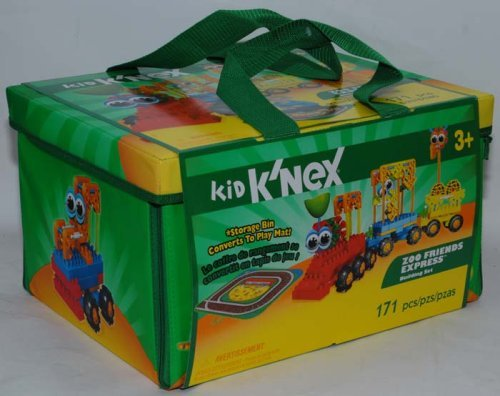 Kid Knex Zoo Friends Express Building Set   171 Pieces