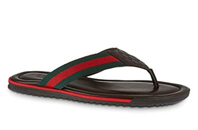 97f158d3466 Gucci Men s Web Strap Thong Sandal