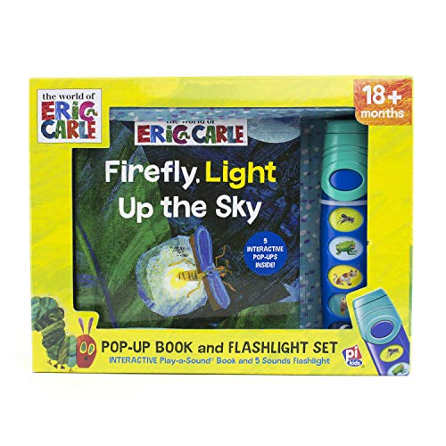 World of Eric Carle, Firefly, Light Up the Sky - Little Flashlight Pop-Up Adventure Book - Play-a-Sound - PI Kids ()